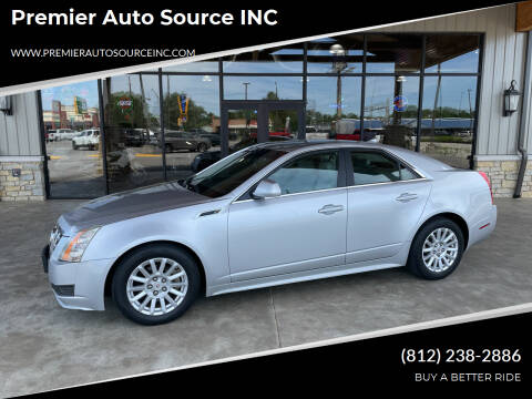 2013 Cadillac CTS for sale at Premier Auto Source INC in Terre Haute IN