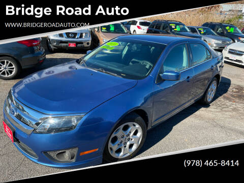 2010 Ford Fusion for sale at Bridge Road Auto in Salisbury MA