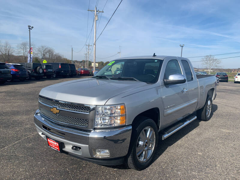 2012 Chevrolet Silverado 1500 for sale at Carmans Used Cars & Trucks in Jackson OH