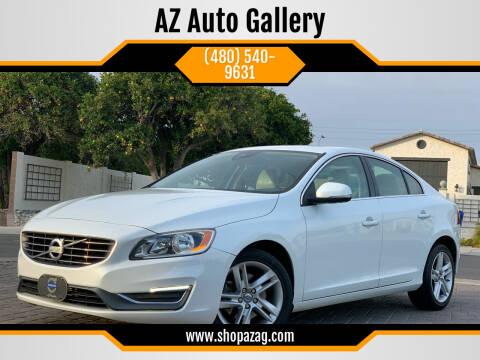 2015 Volvo S60 for sale at AZ Auto Gallery in Mesa AZ