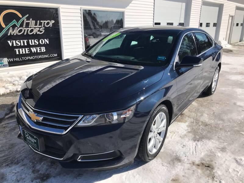 2017 Chevrolet Impala for sale at HILLTOP MOTORS INC in Caribou ME