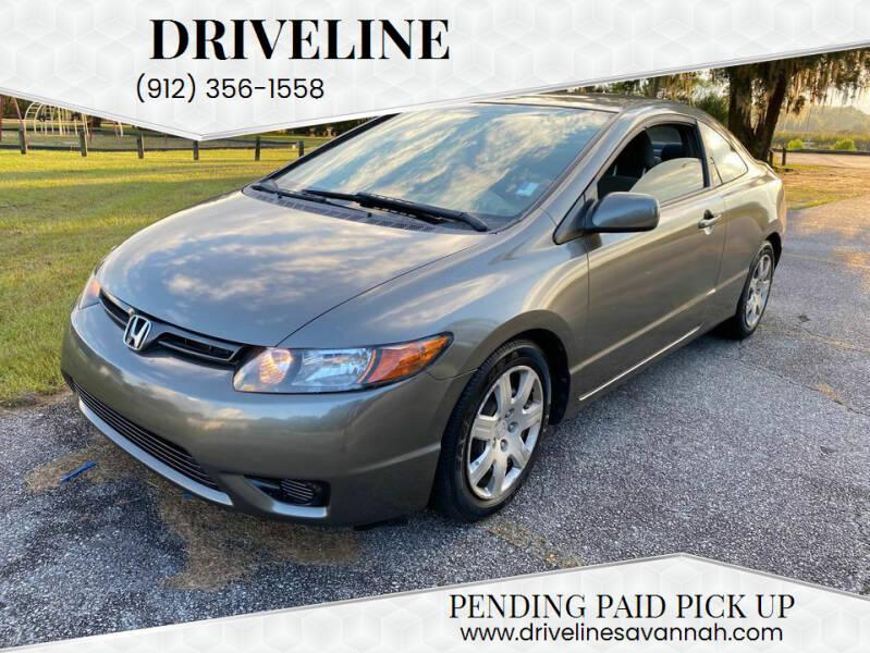 2008 Honda Civic for sale at DRIVELINE in Savannah GA