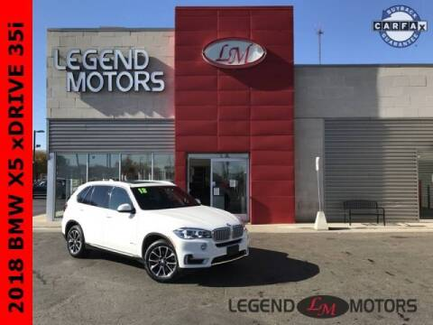 2018 BMW X5 for sale at Legend Motors of Detroit - Legend Motors of Ferndale in Ferndale MI