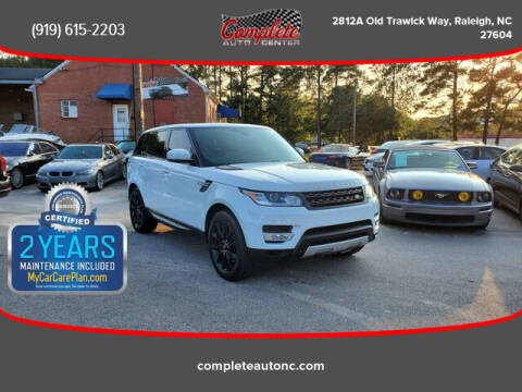 2014 Land Rover Range Rover Sport for sale at Complete Auto Center , Inc in Raleigh NC
