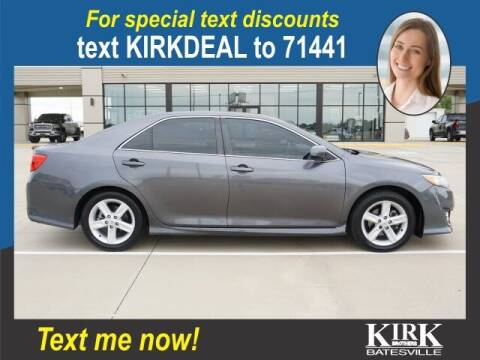 2014 Toyota Camry for sale at Kirk Brothers Batesville in Batesville MS