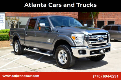 2011 Ford F-350 Super Duty for sale at Atlanta Cars and Trucks in Kennesaw GA