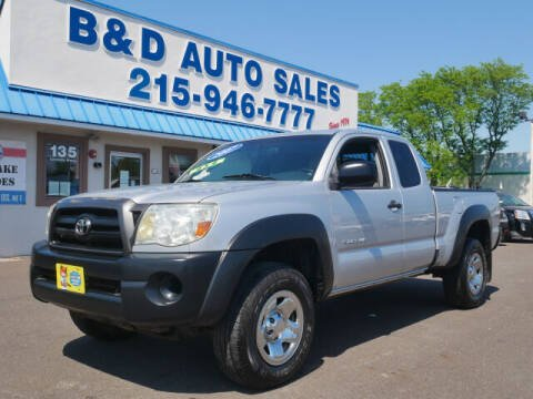 2007 Toyota Tacoma for sale at B & D Auto Sales Inc. in Fairless Hills PA