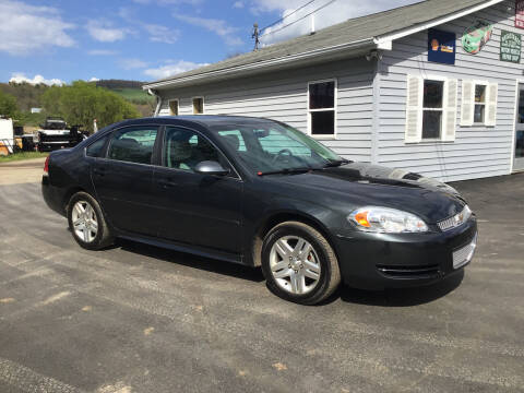 2012 Chevrolet Impala for sale at AFFORDABLE AUTO SVC & SALES in Bath NY