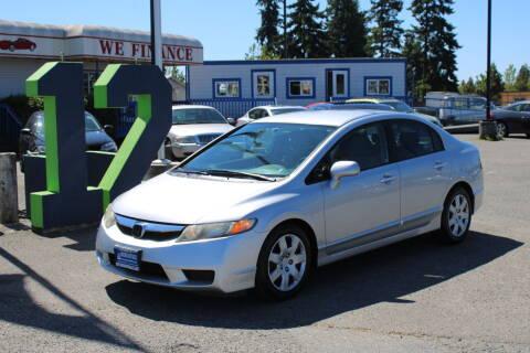 2009 Honda Civic for sale at BAYSIDE AUTO SALES in Everett WA