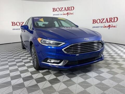 2017 Ford Fusion for sale at BOZARD FORD in Saint Augustine FL