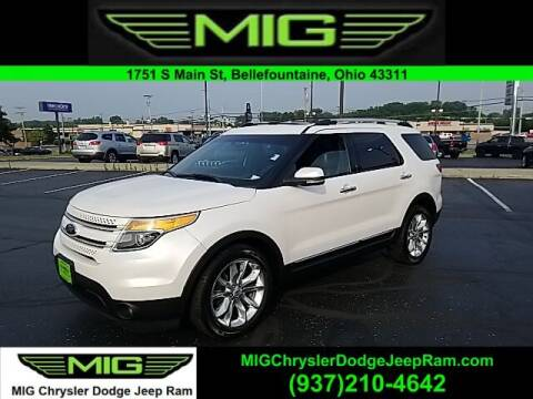 2012 Ford Explorer for sale at MIG Chrysler Dodge Jeep Ram in Bellefontaine OH