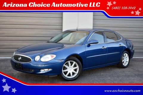 2005 Buick LaCrosse for sale at Arizona Choice Automotive LLC in Mesa AZ