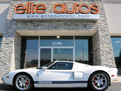2005 Ford GT for sale at Elite Autos LLC in Jonesboro AR