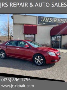 2012 Chevrolet Malibu for sale at JRS REPAIR & AUTO SALES in Richfield UT