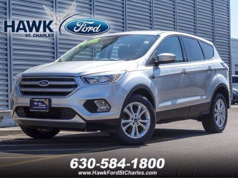 2017 Ford Escape for sale at Hawk Ford of St. Charles in Saint Charles IL