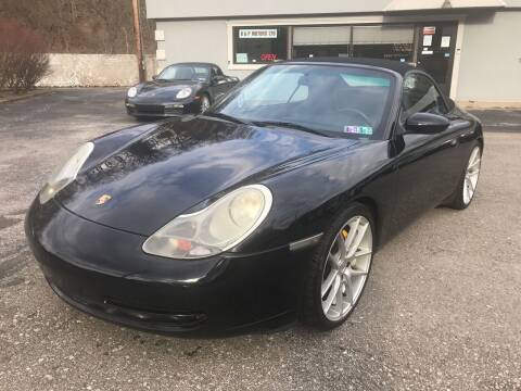 1999 Porsche 911 for sale at B & P Motors LTD in Glenshaw PA