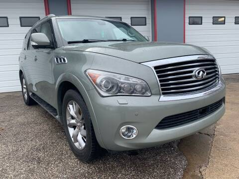2011 Infiniti QX56 for sale at P.G.P. Exotic Auto Sales Inc. in Owensboro KY