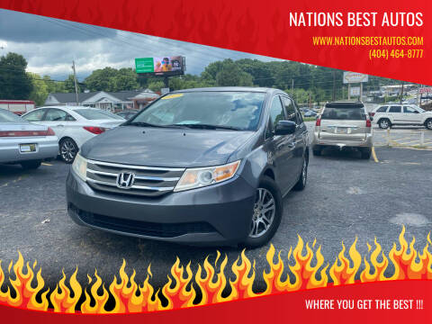 2013 Honda Odyssey for sale at Nations Best Autos in Decatur GA