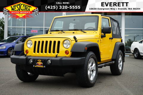 2007 Jeep Wrangler for sale at West Coast Auto Works in Edmonds WA