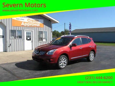 2012 Nissan Rogue for sale at Severn Motors in Cadillac MI