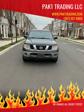 2007 Nissan Frontier for sale at Pak1 Trading LLC in South Hackensack NJ