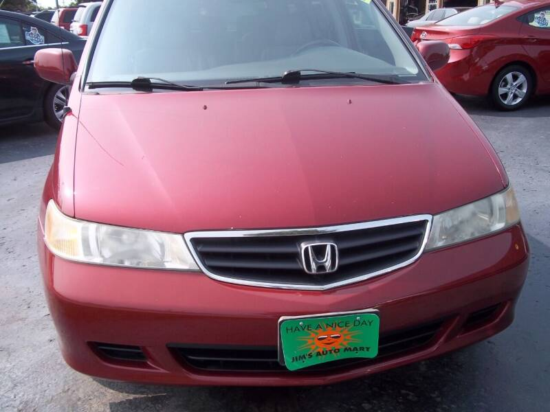 2002 Honda Odyssey for sale at JIMS AUTO MART INC in Milwaukee WI