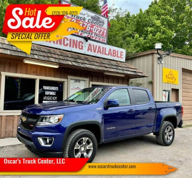 2016 Chevrolet Colorado for sale at Oscar's Truck Center, LLC in Houston TX