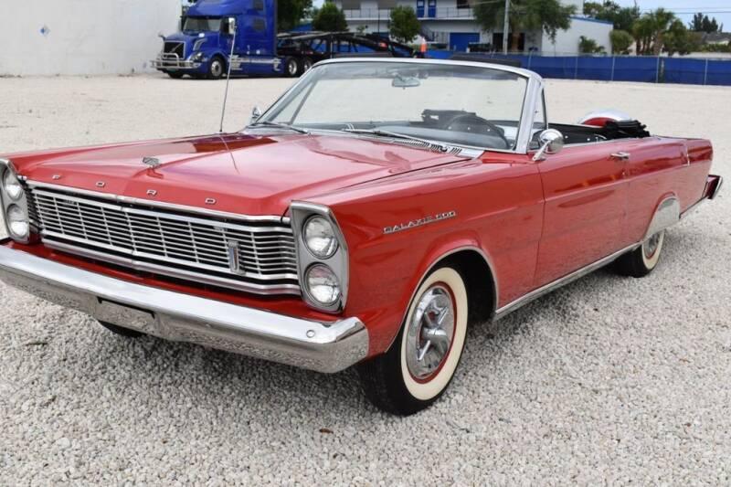 1965 Ford Galaxie 500 for sale in Pompano Beach, FL