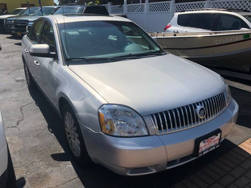 2005 Mercury Montego for sale at Bel Air Auto Sales in Milford CT
