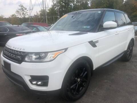 2015 Land Rover Range Rover Sport for sale at Maroun's Motors, Inc in Boardman OH