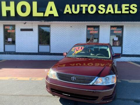 2002 Toyota Avalon for sale at HOLA AUTO SALES CHAMBLEE- BUY HERE PAY HERE - in Atlanta GA