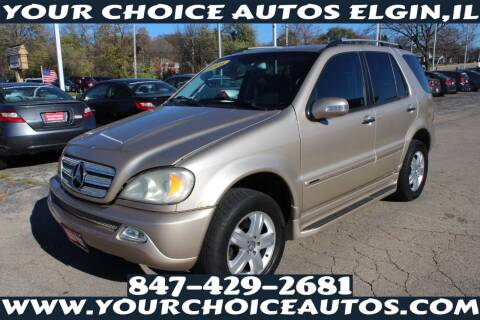 2005 Mercedes-Benz M-Class for sale at Your Choice Autos - Elgin in Elgin IL