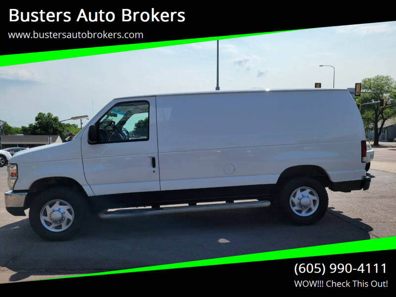 2013 Ford E-Series Cargo for sale at Busters Auto Brokers in Mitchell SD