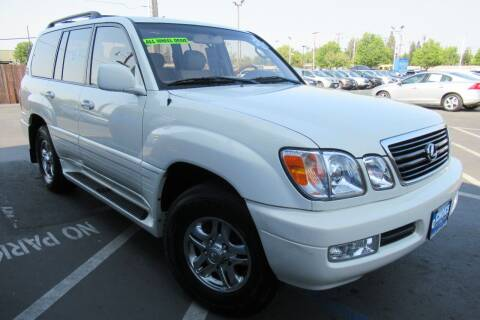 2001 Lexus LX 470 for sale at Choice Auto & Truck in Sacramento CA