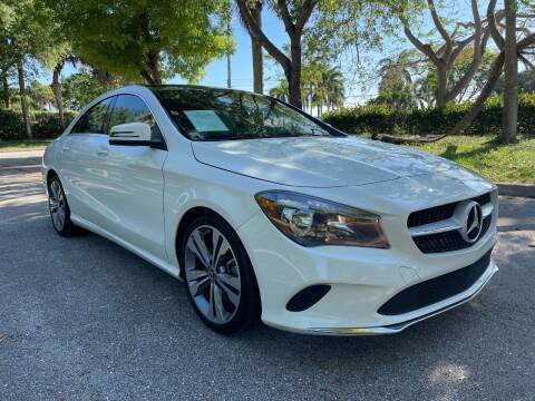 2018 Mercedes-Benz CLA for sale at DELRAY AUTO MALL in Delray Beach FL