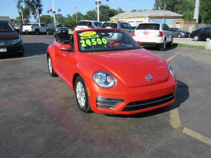 2017 Volkswagen Beetle Convertible for sale at Auto Land Inc in Crest Hill IL