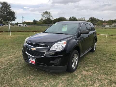 2013 Chevrolet Equinox for sale at LA PULGA DE AUTOS in Dallas TX