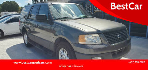 2004 Ford Expedition for sale at BestCar in Kissimmee FL
