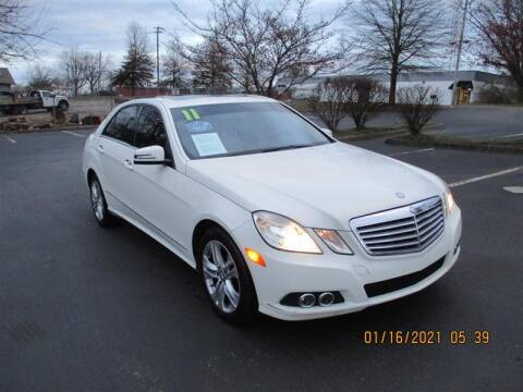 2011 Mercedes-Benz E-Class for sale at Euro Asian Cars in Knoxville TN