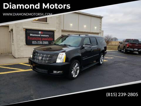 2013 Cadillac Escalade ESV for sale at Diamond Motors in Pecatonica IL