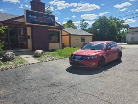 2010 Ford Taurus for sale at Pro Motors in Fairfield OH