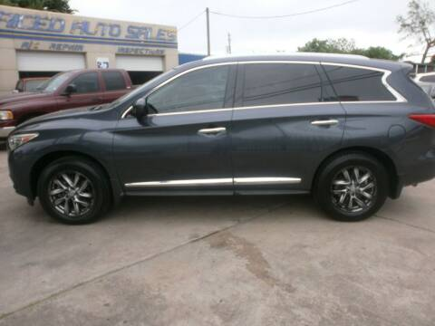 2013 Infiniti JX35 for sale at Under Priced Auto Sales in Houston TX