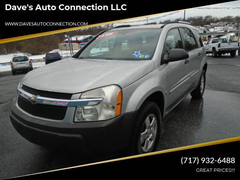 2005 Chevrolet Equinox for sale at Dave's Auto Connection LLC in Etters PA