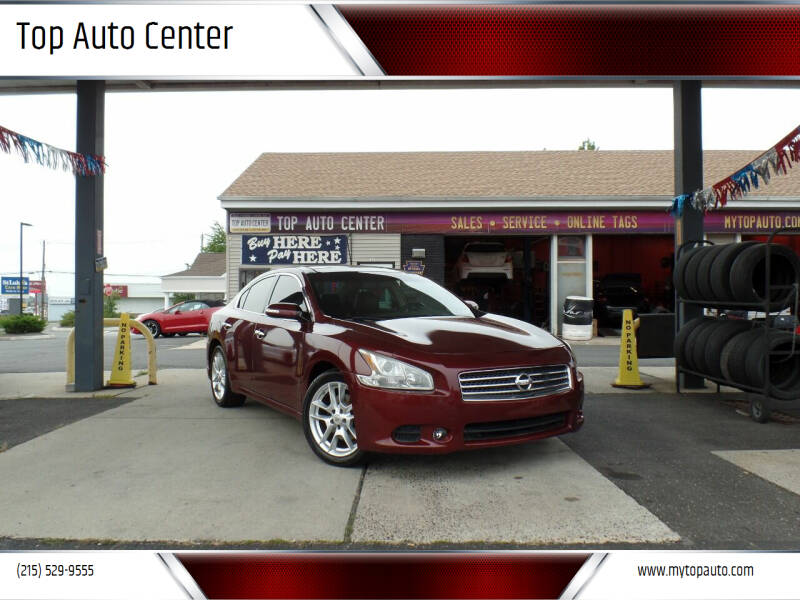 2010 Nissan Maxima for sale at Top Auto Center in Quakertown PA