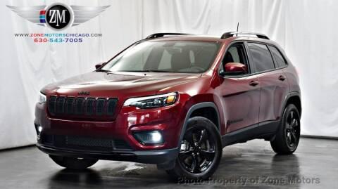 2019 Jeep Cherokee for sale at ZONE MOTORS in Addison IL