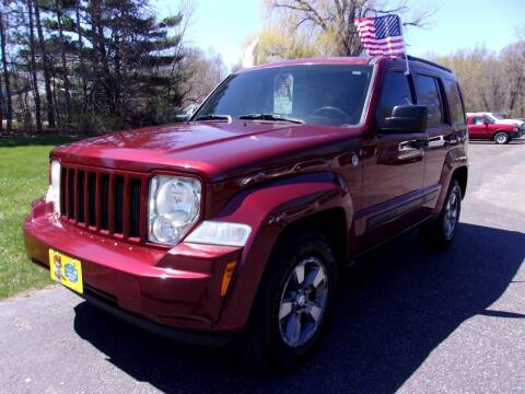 2008 Jeep Liberty for sale at American Auto Sales in Forest Lake MN