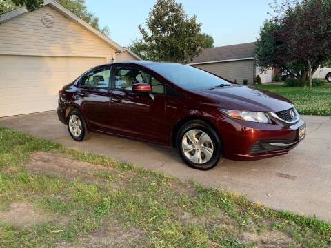 2015 Honda Civic for sale at Champion Motorcars in Springdale AR