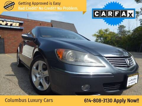 2006 Acura RL for sale at Columbus Luxury Cars in Columbus OH