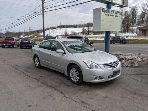 2012 Nissan Altima for sale at Route 22 Autos in Zanesville OH