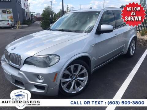 2009 BMW X5 for sale at Auto Brokers Unlimited in Derry NH